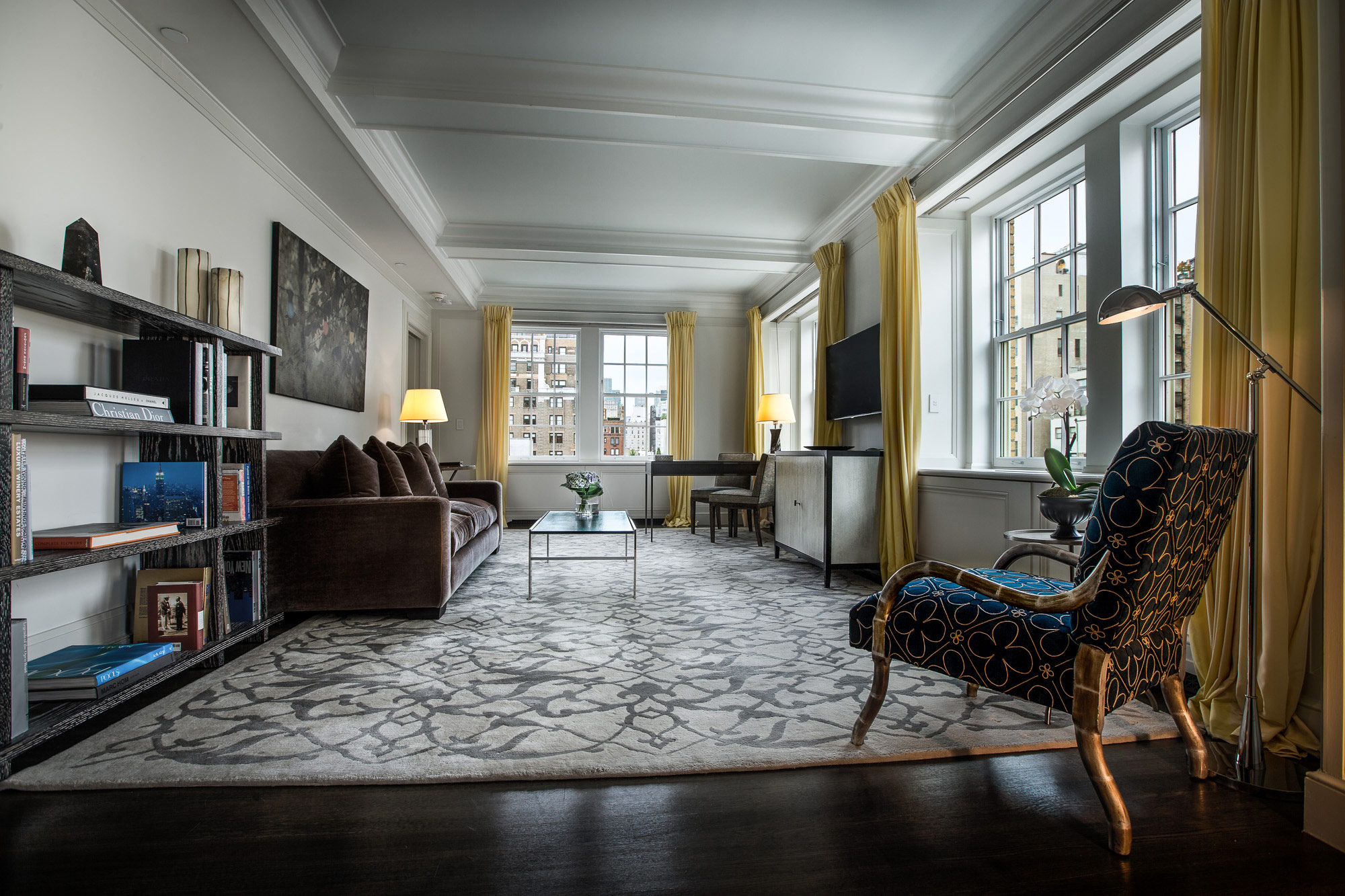 Mark premier two bedroom luxury hotel suite the mark hotel new york ny for 2 bedroom suite in new york city