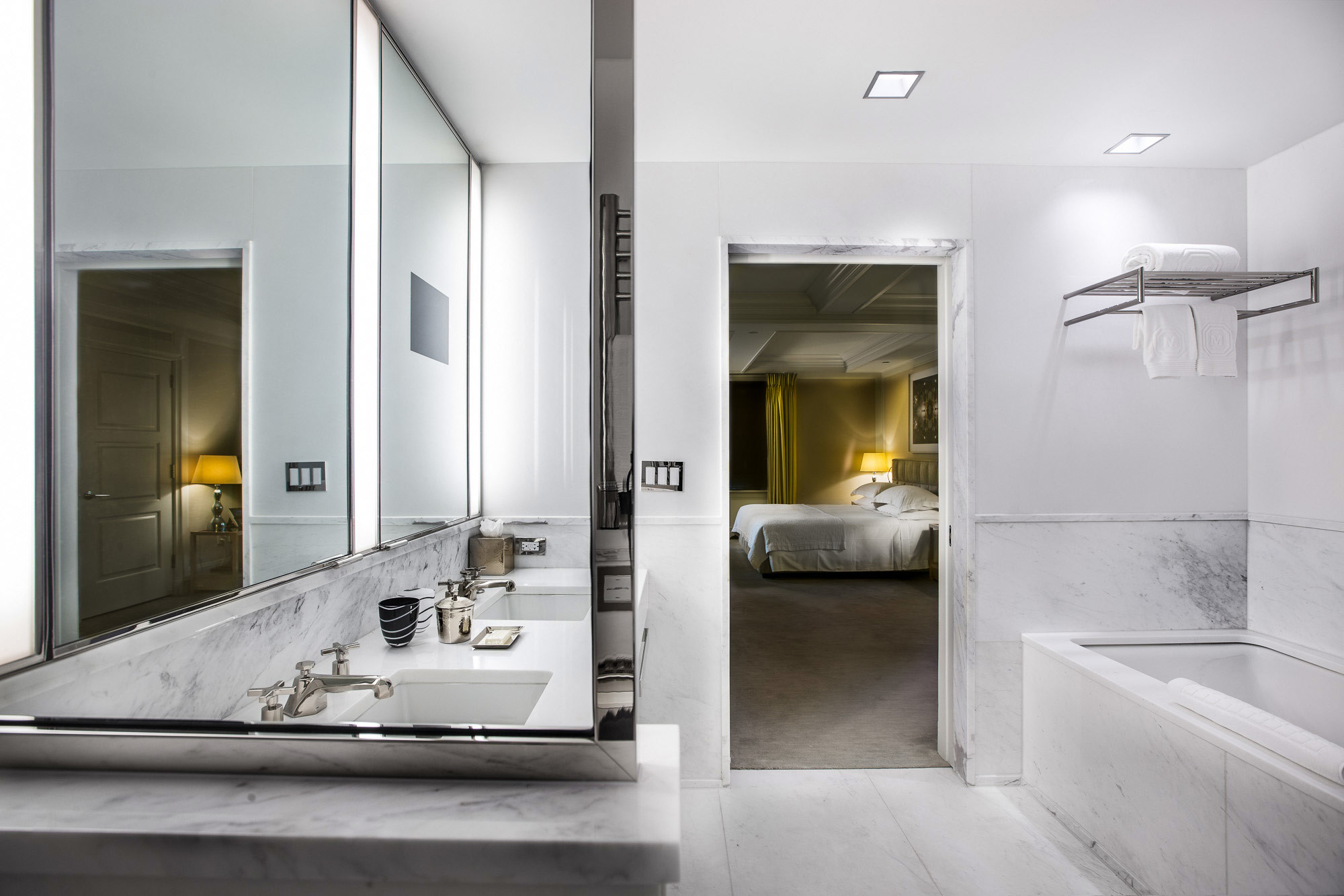 Luxury Bathrooms In Hotels the mark two bedroom luxury hotel suite | the mark hotel | new