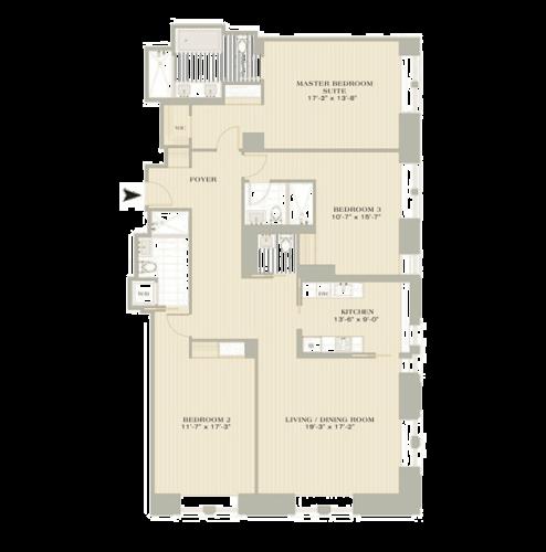 Luxury Three Bedroom Hotel Suite In NYC
