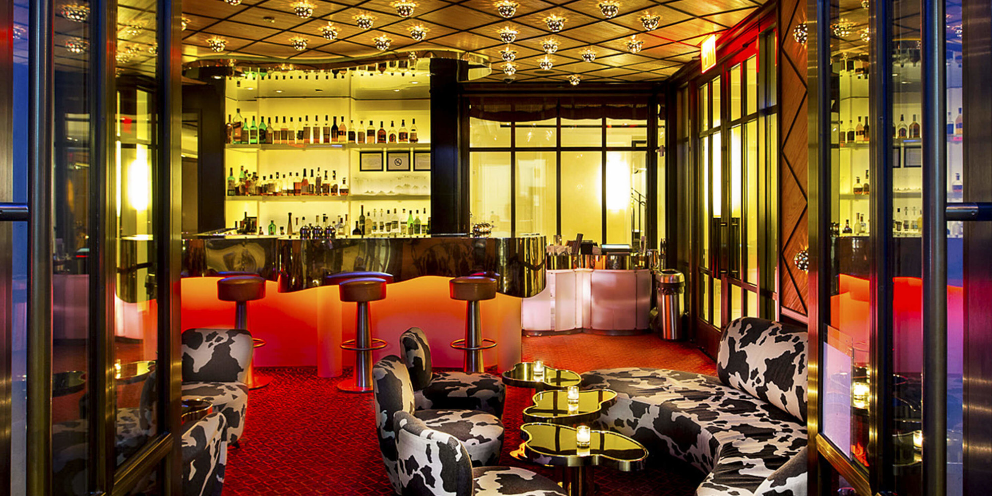 Restaurant bar at the mark world class dining by jean georges - The grange hotel restaurant ...